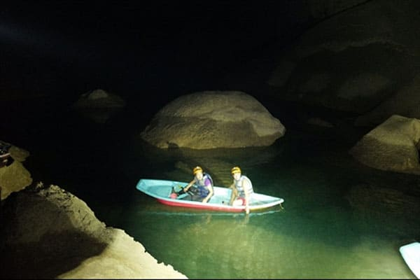 Journey to the centre of Son Doong Cave