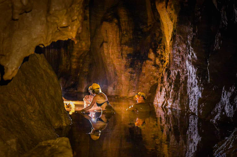 Dark cave vietnam